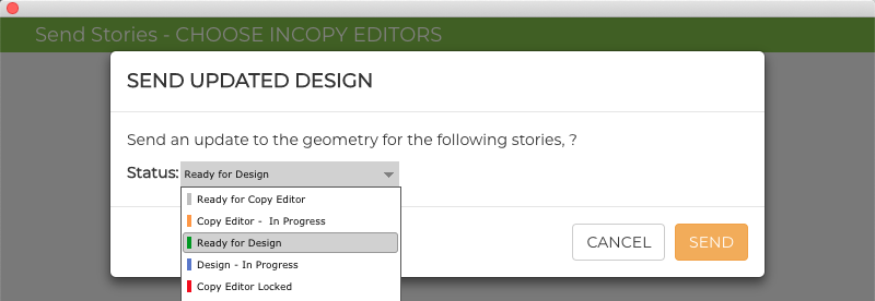 GoProof InDesign Story Status 1