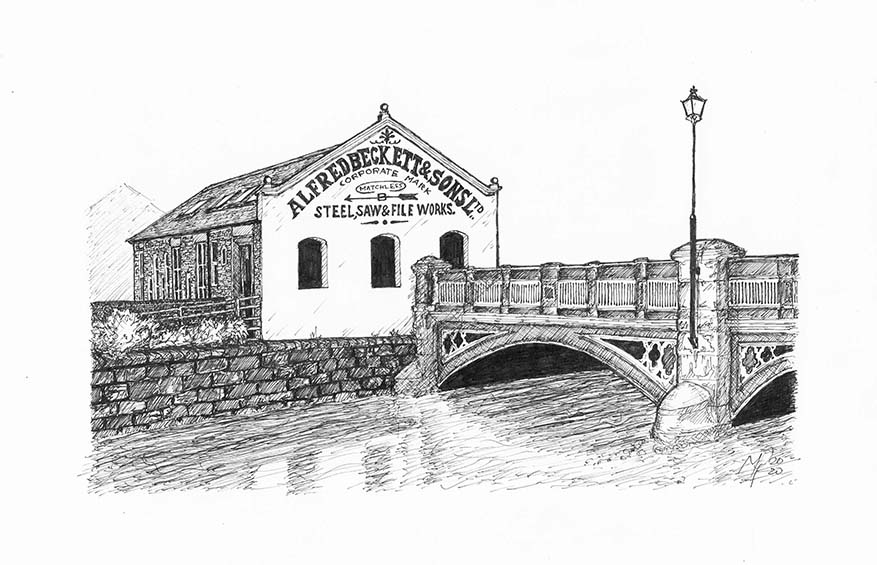 Sheffield Art Pen and Ink