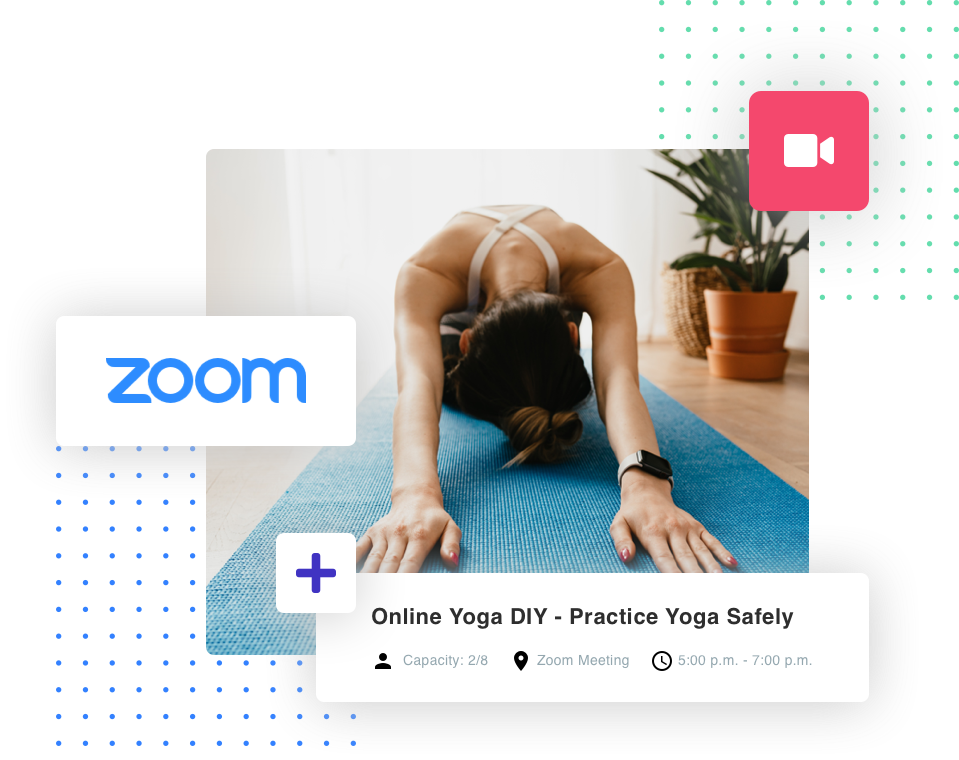 zoom online pilates studio