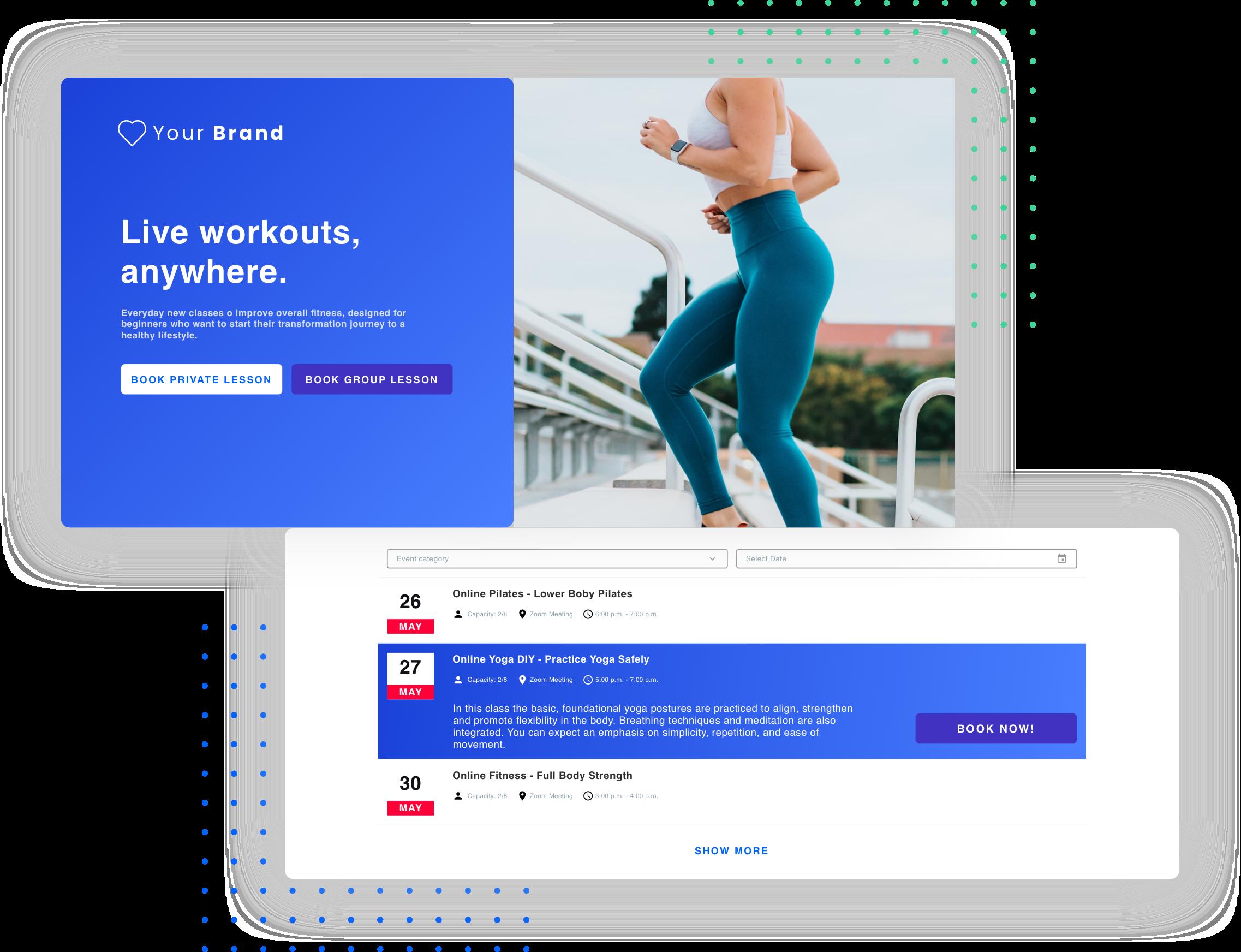 website online gym