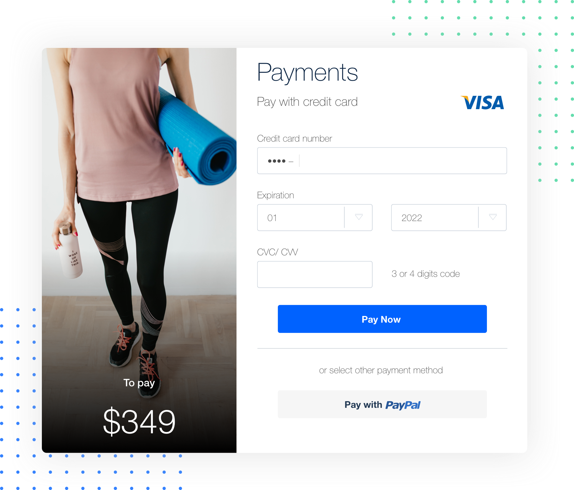 payment online gym
