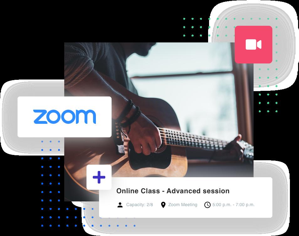 zoom online Dance school