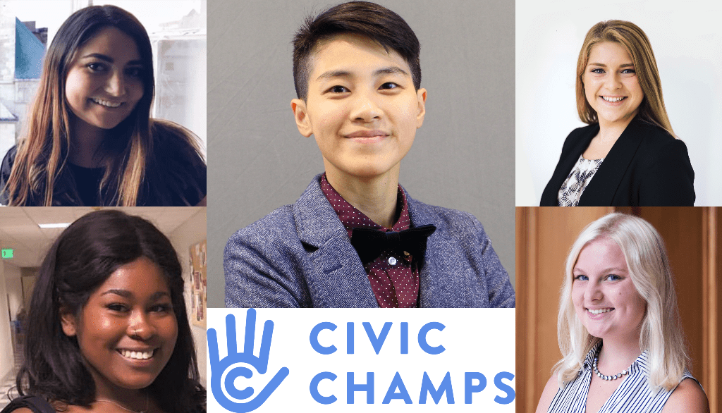 Introducing the 2020 Civic Champs Interns