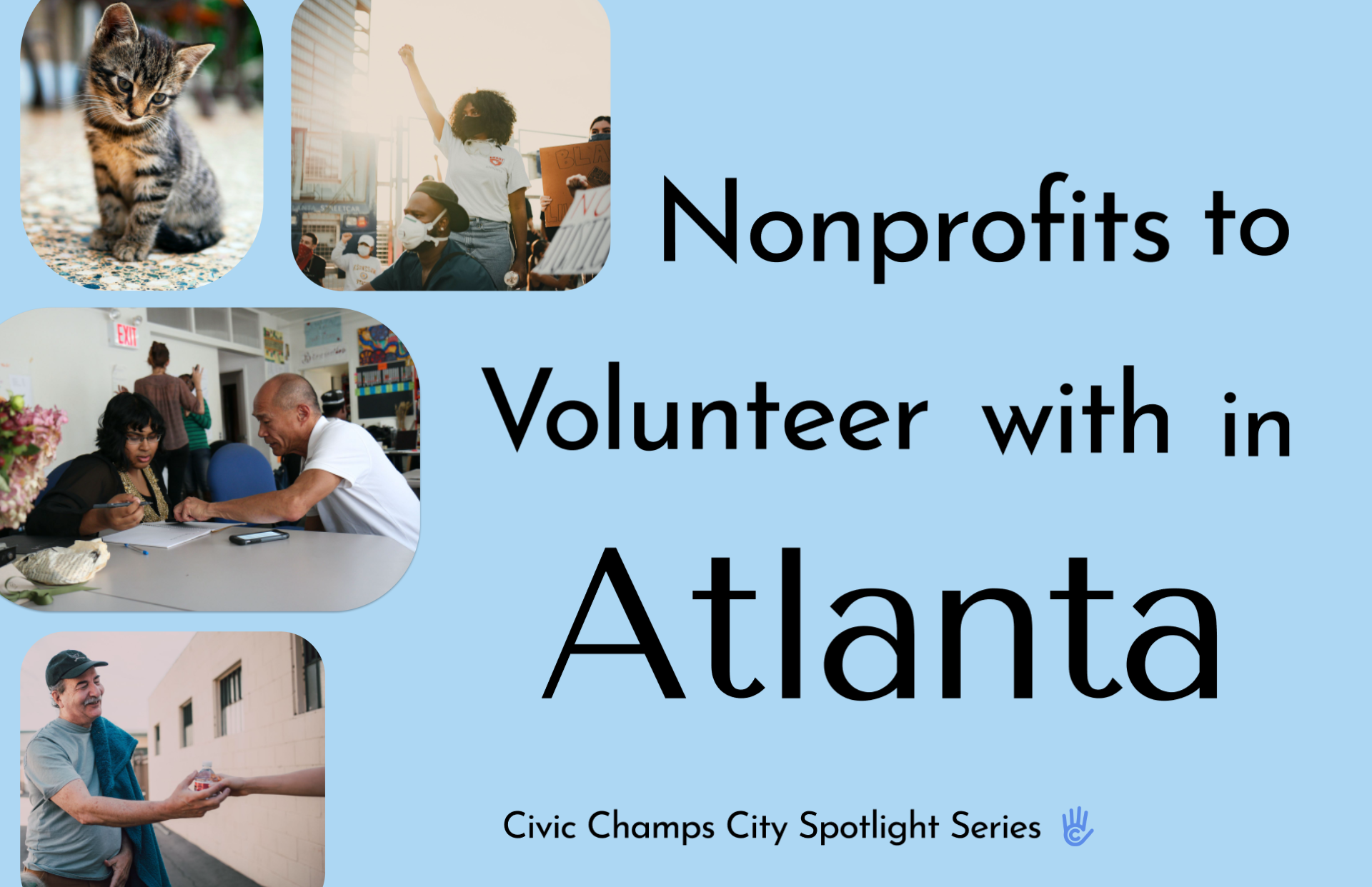 Here Are the Atlanta Nonprofits to Volunteer with this Spring