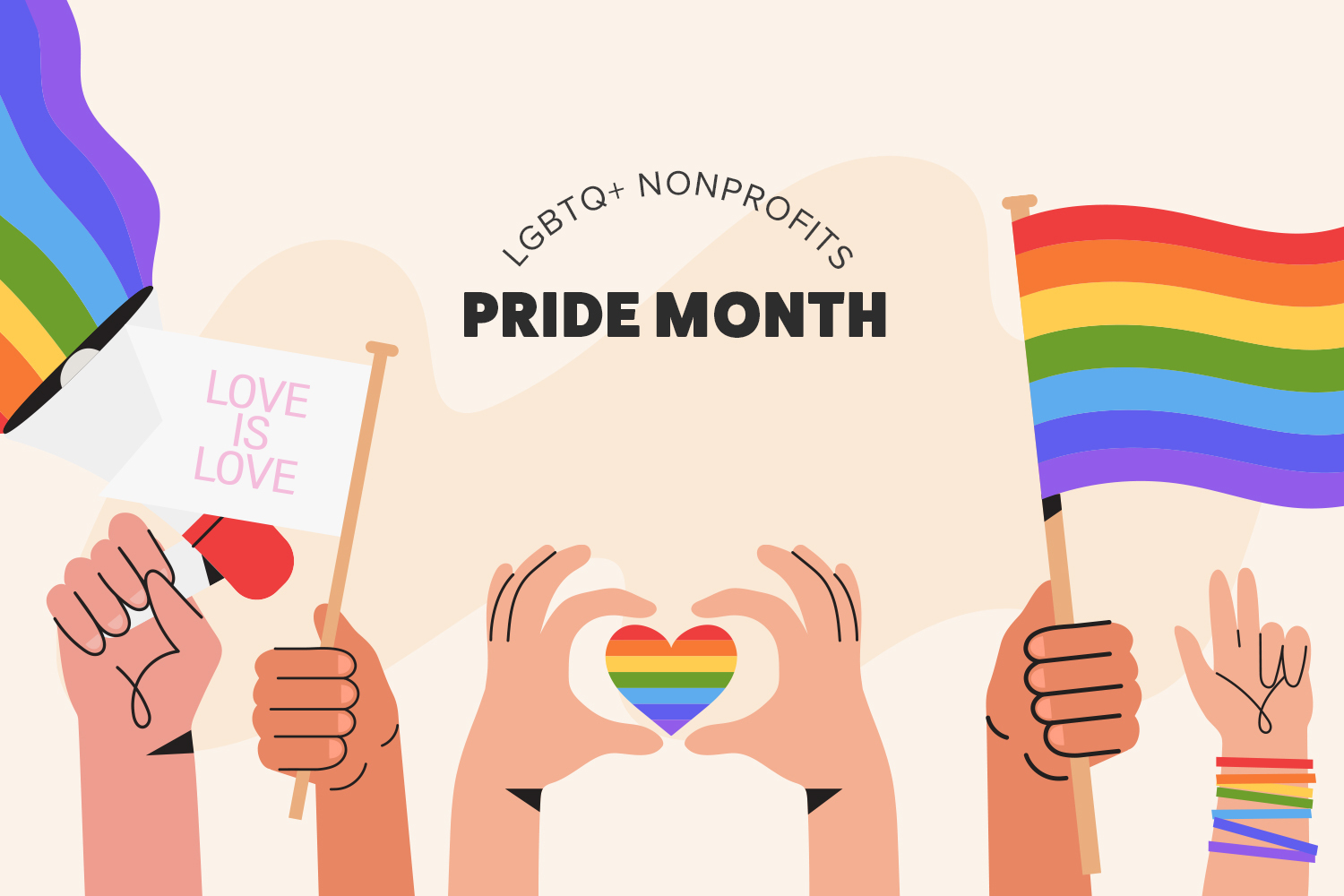 LGBTQ+ Organizations to Volunteer With this Pride Month and Beyond