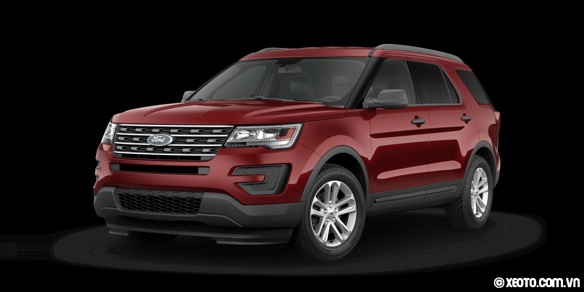 """/>Trong cùng phân khúc, có rất nhiều đối thủ cùng sở hữu không gian nội thất và chỗ duỗi chân của hàng ghế thứ 3 rộng rãi giống như Explorer, thế nhưng Explorer lại khó có thể kiếm được chỗ để xe khi mang trên mình một """"thân hình vạm vỡ"""" hơn những đối thủ khác như Chevrolet Traverse 2016, GMC Acadia 2016, Honda Pilot 2016.<strong>Ngoại thất</strong><img id="""