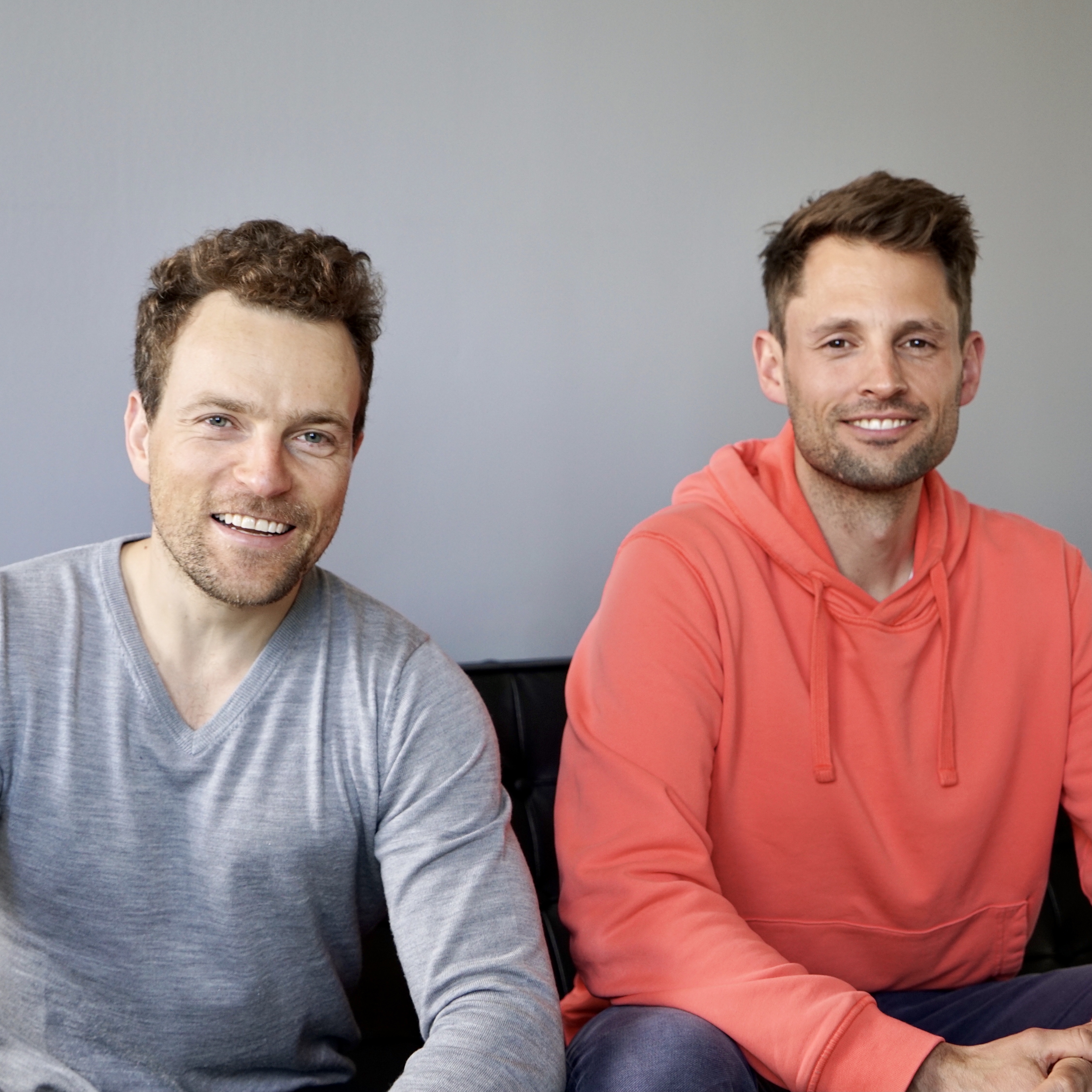 Fabian Furtmeier and Dominik Unützer - the two founders of AMAZD