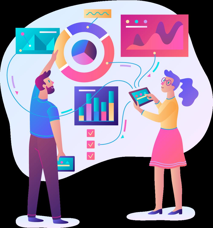 KPI Media animation