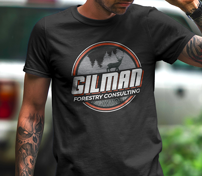 Image of Gilman Forestry T-shirt design