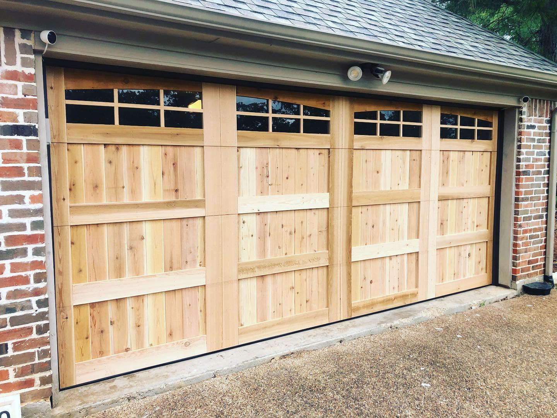real wood garage door installation company