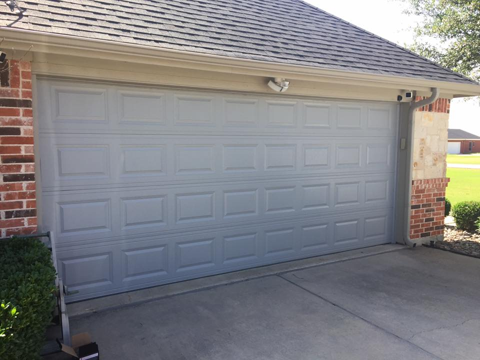 metal garage door installation denton
