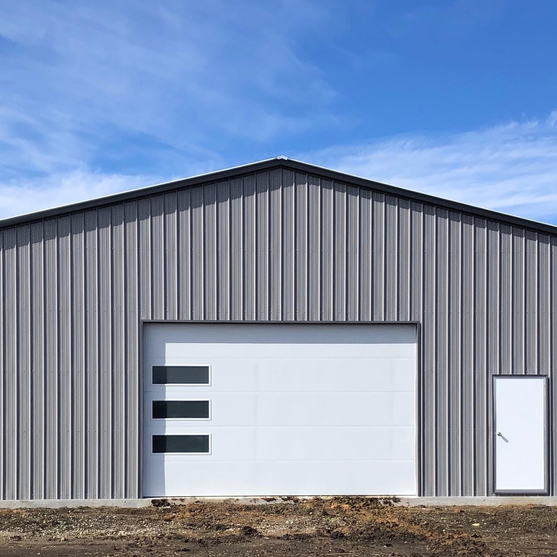 panel garage door project