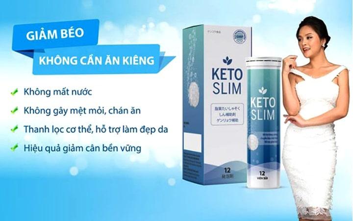 Ưu điểm nổi bật của Keto Slim