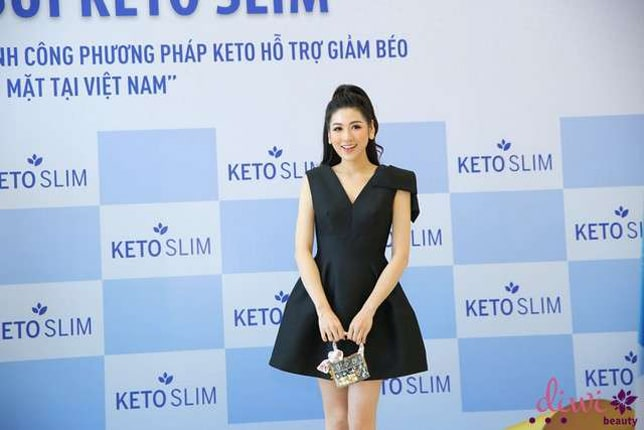 Review Keto Slim Á hậu Dương Tú Anh