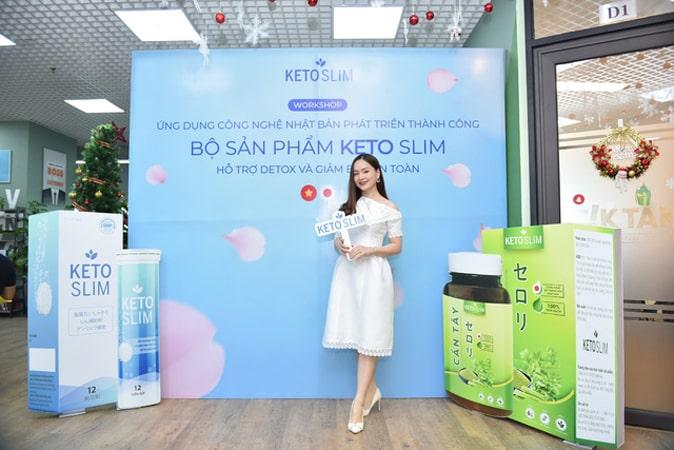 Diễn viên Lan Phương review Keto Slim