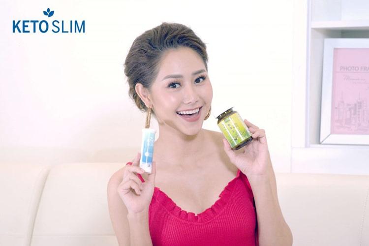 Diễn viên Tường Vi review Keto Slim