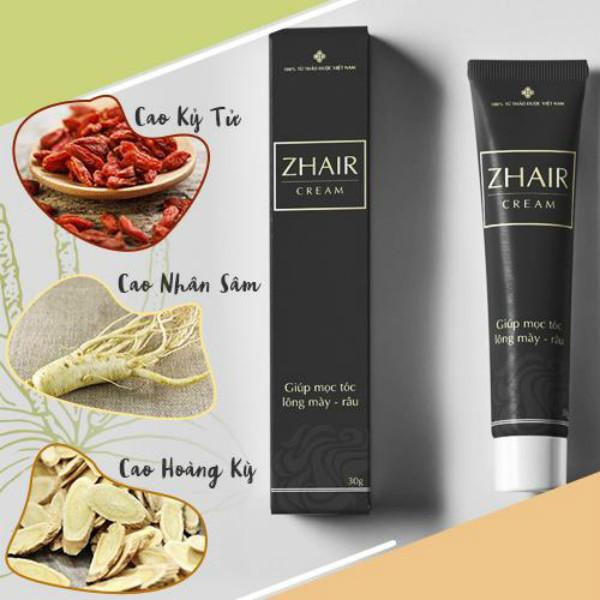 Zhair Cream - Điều trị tóc bạc sớm