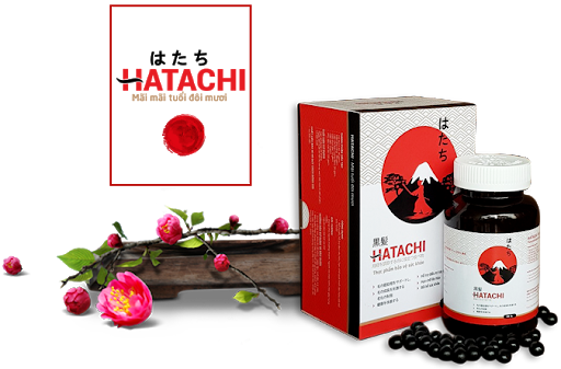 Hatachi than truoc tri toc bac som