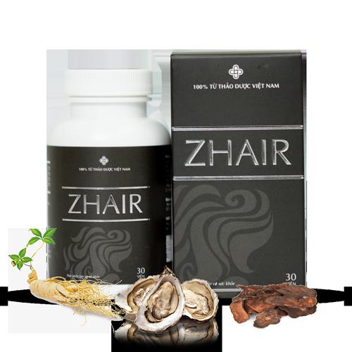 Viên Uống Zhair- Đạc trị tóc bạc sớm
