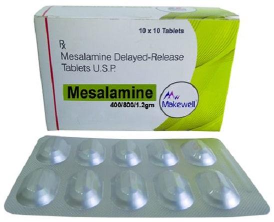 Thuốc chống viêm đại tràng Mesalamine