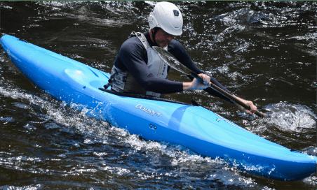 Kayaking on Rapids in Switzerland
