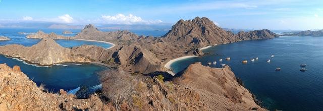Padar Island, Komodo, West Manggarai Regency, East Nusa Tenggara, Indonesia