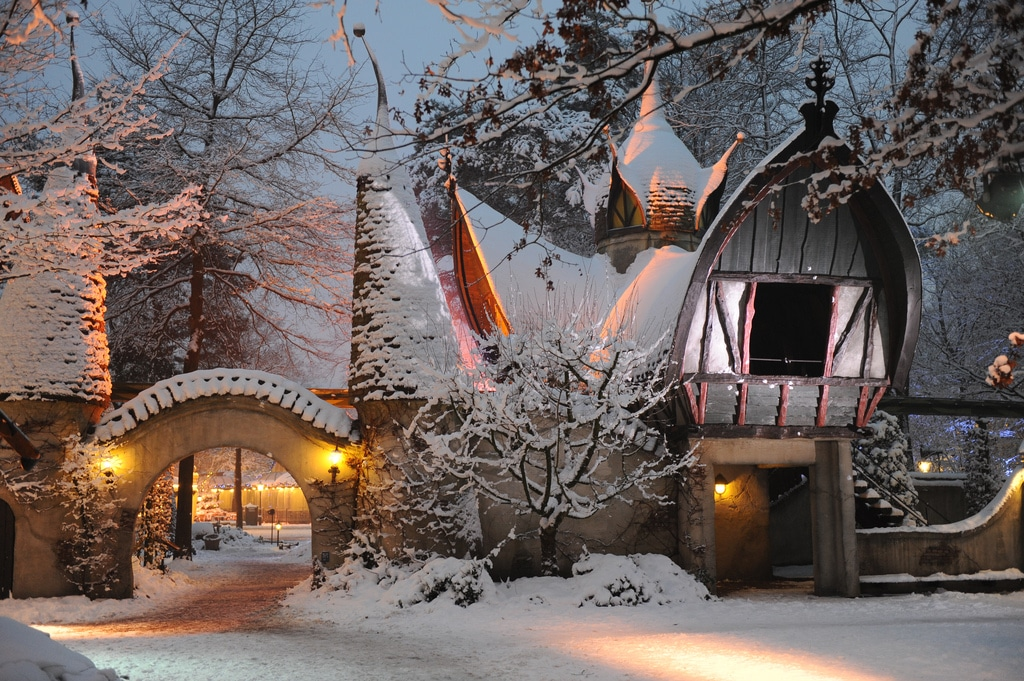 Efetling in Winter