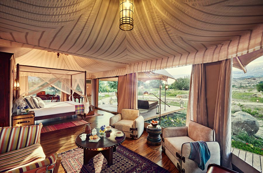 Luxury Tent Glamping