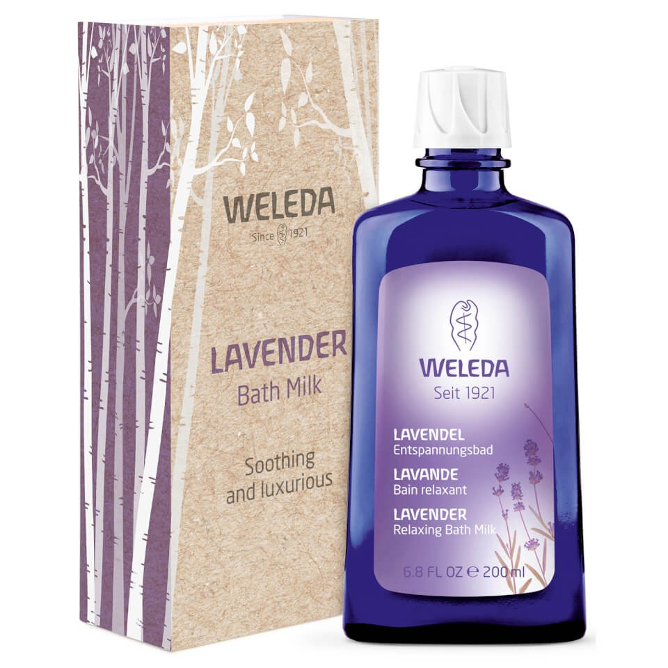 Lavender Bath Milk, Wild Rose Cream Bath