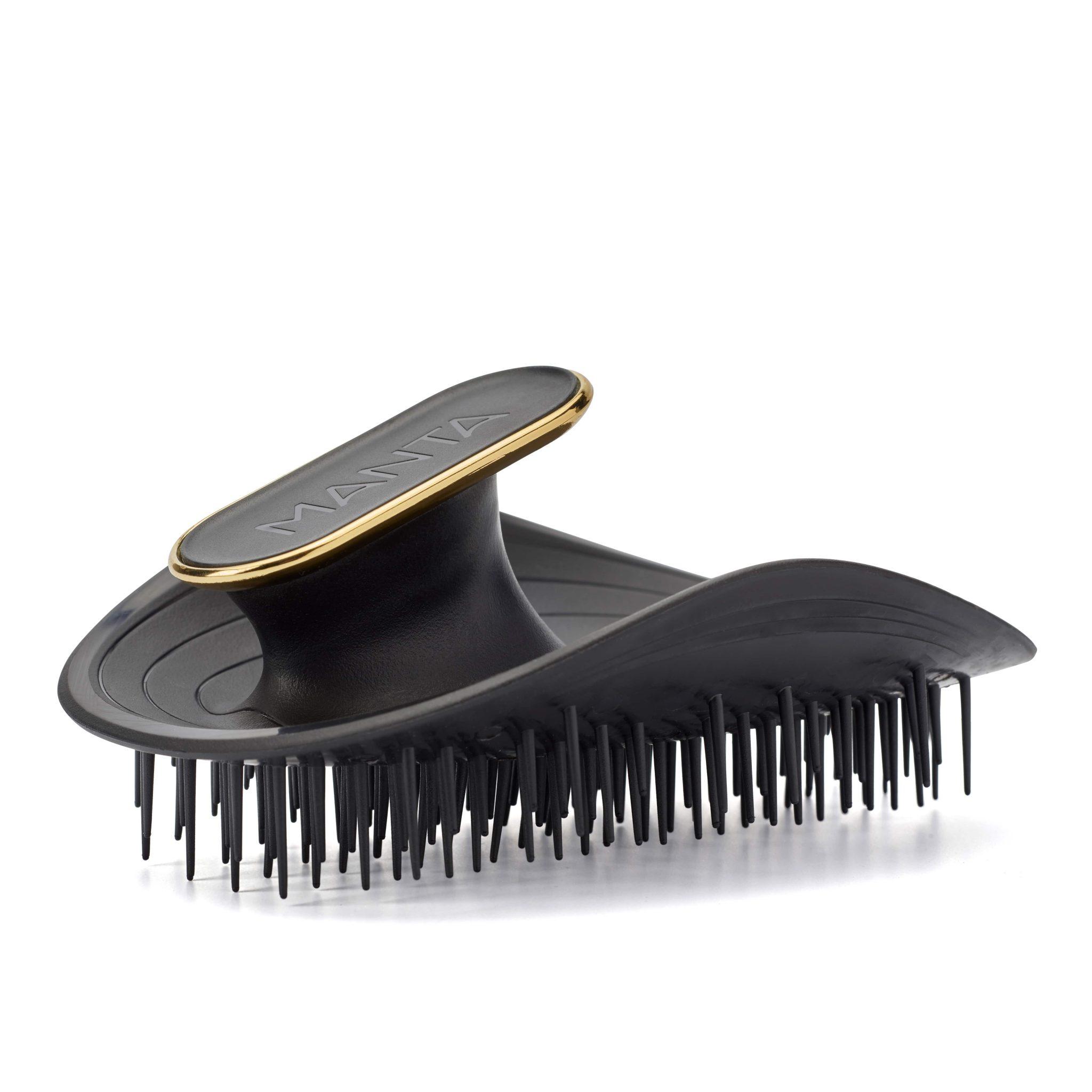 Manta Original Black Hairbrush