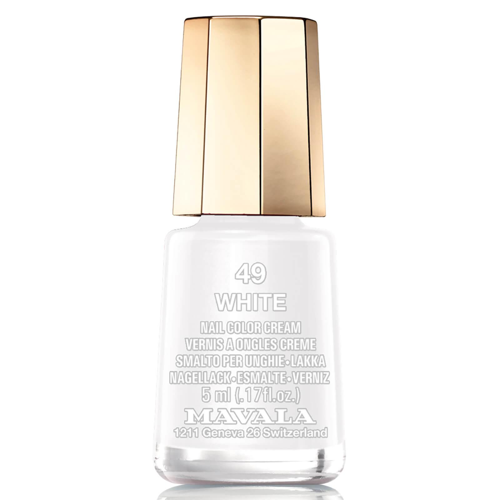 Mavala Nail Polish White 5ml
