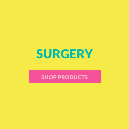 These are all the products I would recommend after going through surgery. You can also find products specific that are best suited to different requirements such as scars, aches and sensitive skin.