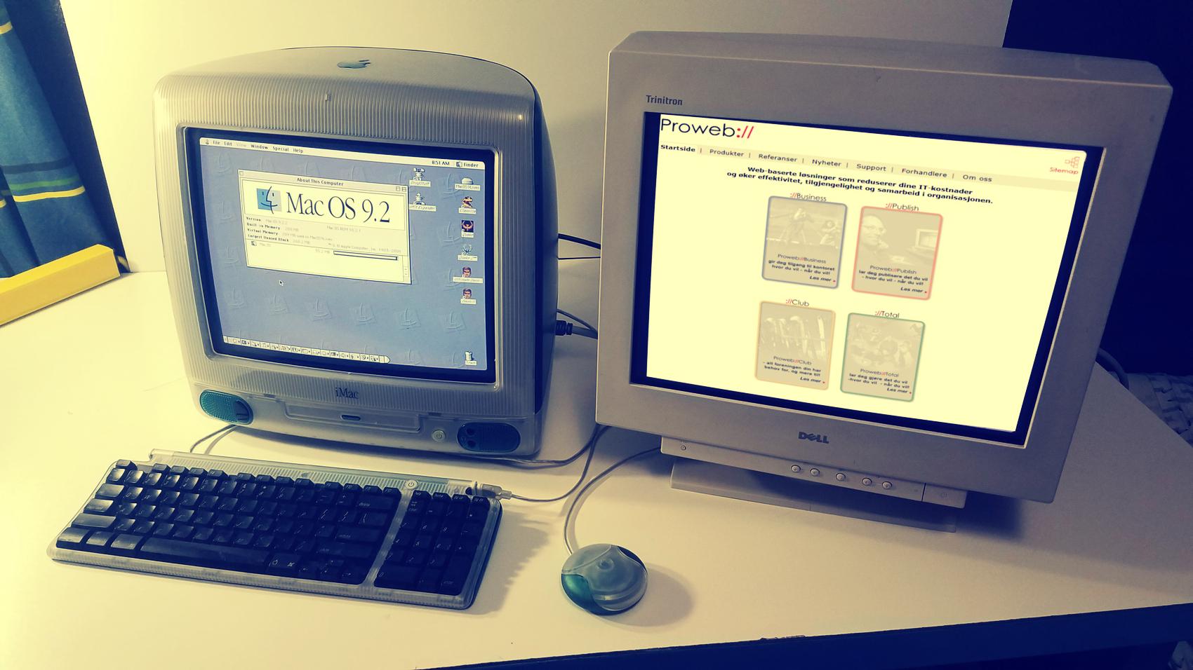 Webson CRM Historie