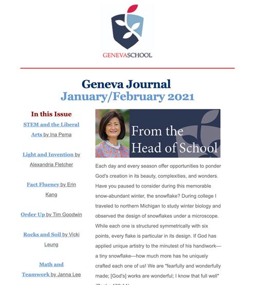 Geneva School Journal