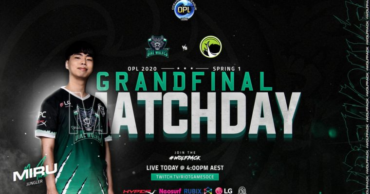 Grand Final Match Day