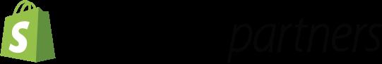 A Shopify Partner logo