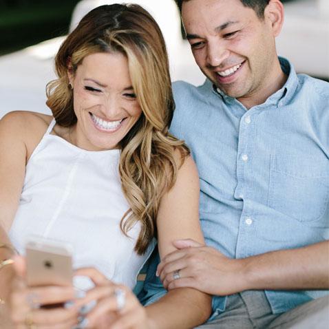 Jasmine Star and her husband, JD