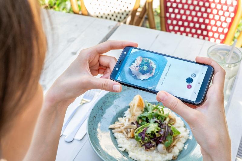 DiabTrend Lebensmittelerkennungsfunktion für Diabetiker