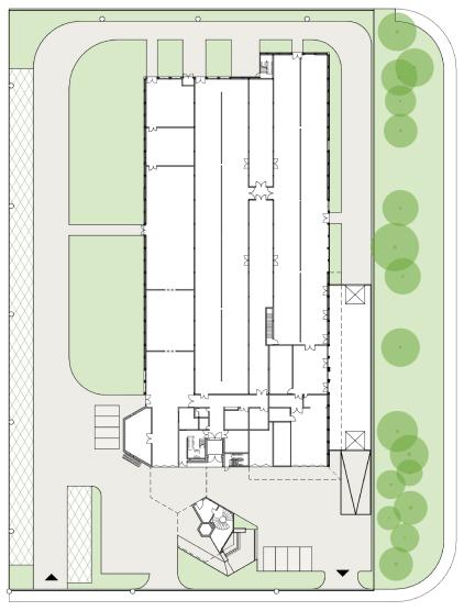 Current Plan, Via Industria, Biasca