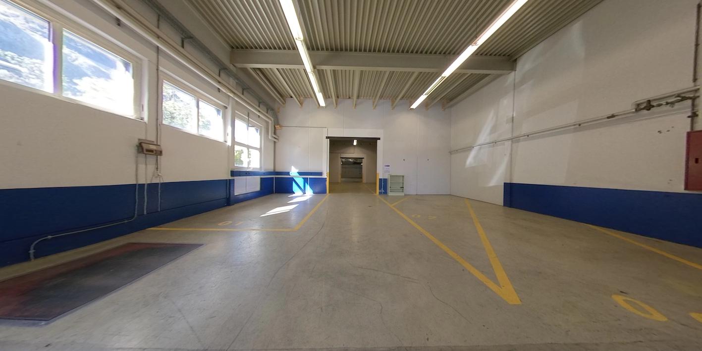 Production hall, Via Industria Biasca