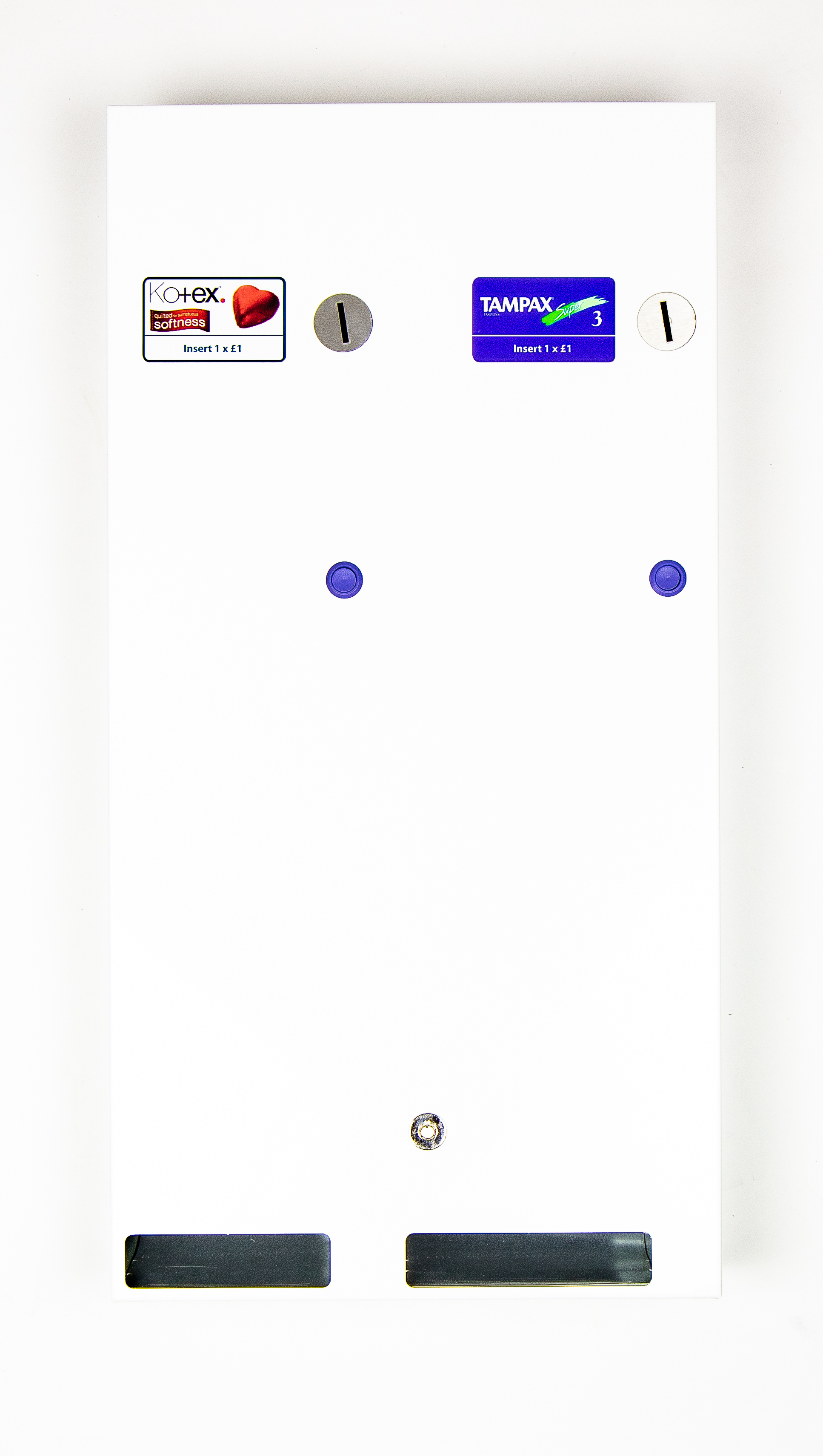 Dual Feminine Vending Machine