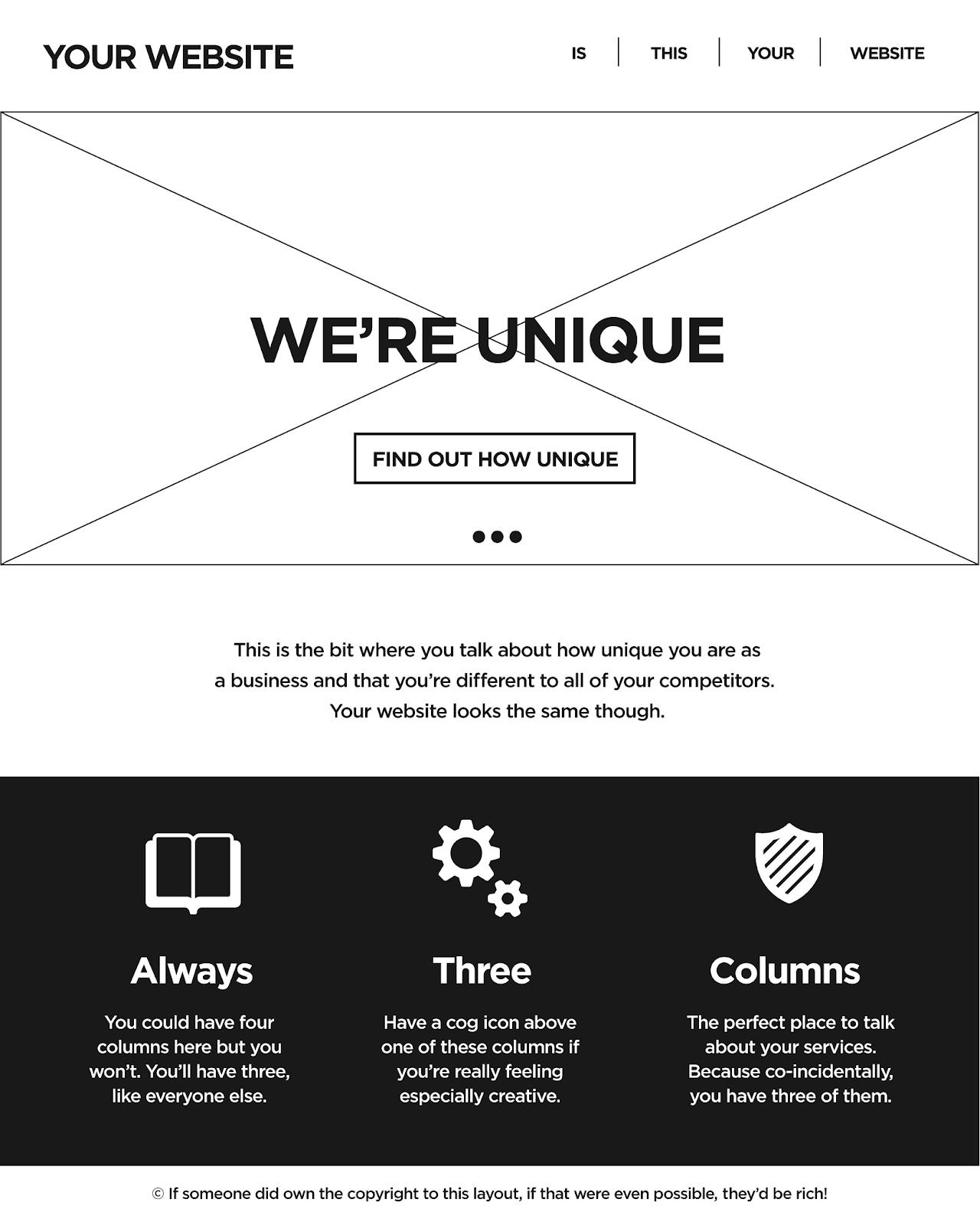design maquette site