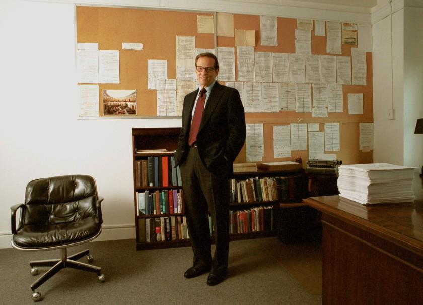 Robert Caro biographie bureau