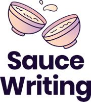 logo transparent Sauce Writing
