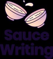 logo transparent Sauce Writing