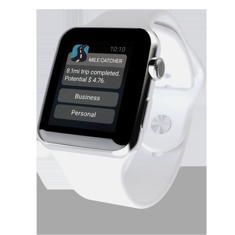 Apple watch trip logged notification