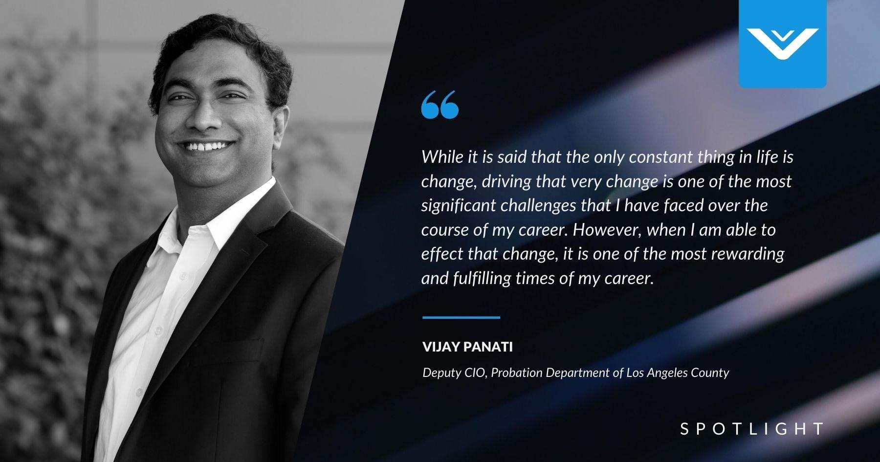 Council Spotlight: Vijay Panati
