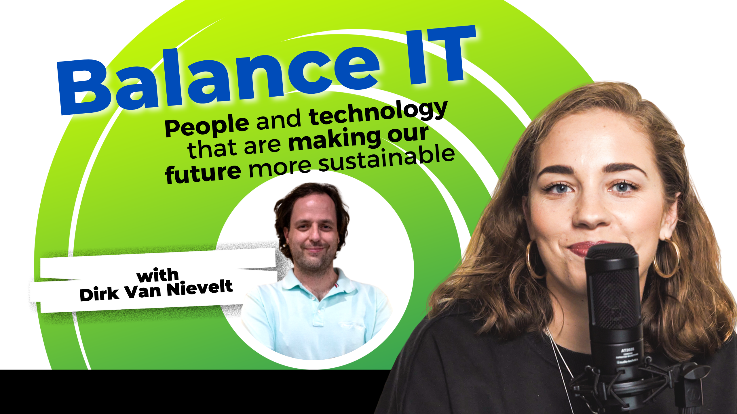 image of Balance IT podcast episode cover with Dirk Van Nievelt