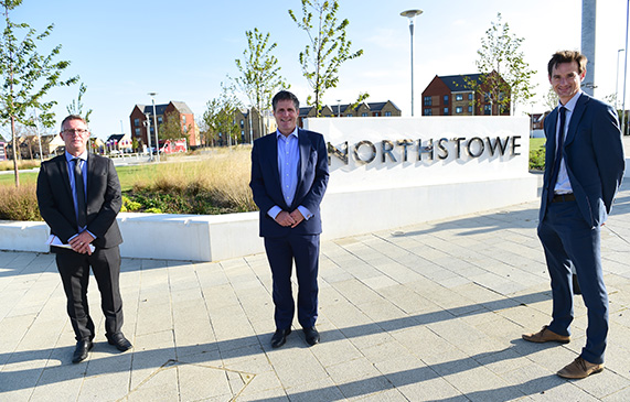 Local MP gets his first look at Cambridgeshire's new town