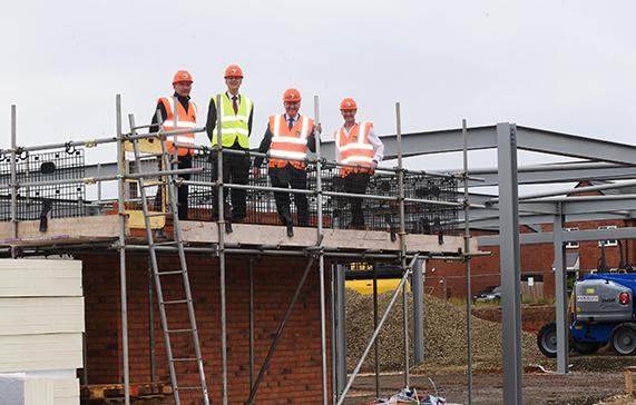 Work underway at Heathcote Square
